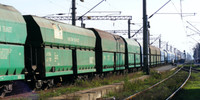 Gusskomponenten Leistungen Transport Landweg