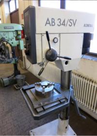 Machine equipment mill/drill pillar drilling maschine / Alzmetall AB 34/SV