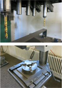 Maschinenpark Fräsen/Bohren Säulenbohrmaschine / Alzmetall AB 34/SV Leistung