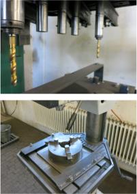 Machine equipment mill/drill pillar drilling maschine / Alzmetall AB 34/SV output