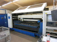 Machine equipment laser cutting Trumpf Trumatic L2530 / Co2 thickness of sheets