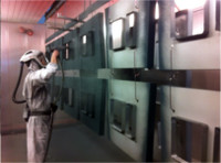 Machine equipment surface techniques powder coating
