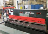 Maschinenpark Schneiden Tafelschere Amada GPN 425 Blechverarbeitung