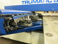 Machine equipment punching Trumpf Trumatic 500 Rotation thickness of sheets