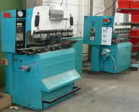 Machine equipment forming / edging Promecam / RG 50-20 backgauge