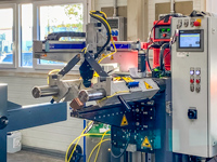 Corner seam welding machine (TIG)