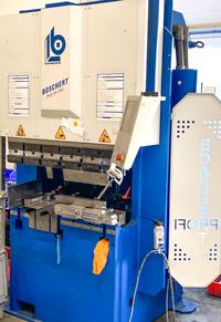 Machine equipment forming/flanging Boschert Profi 28 CNC compressive force passage