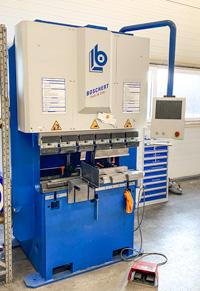 Machine equipment forming/flanging Boschert Profi 28 CNC