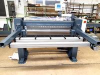 Machine equipment forming/bending semi-automatic folding opening width